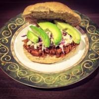 Vegan 'Pulled-Pork' Sandwich